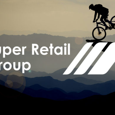 Stock in Focus: Super Retail Group. It's all about sustainable after-tax cash earnings.